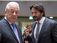 Dimitris Avramopoulos a Robert Kaliňák