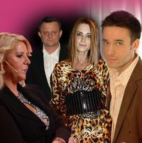 Nora Mojsejová, Vilo Rozboril, Erika Judínyová a Roman Juraško.