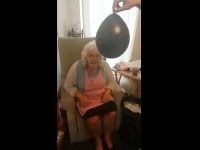 Margaret pokazila prekvapenie