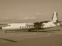 Fokker F27 Fuerza Aerea nabúral do hory