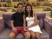S priateľkou Janou, ktorá pochádza zo Slovinska