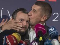 Andrej Babiš a Marek Prchal