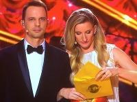 Martin Pyco Rausch a Adela Vinczeová pred vyhlásením výsledkov.