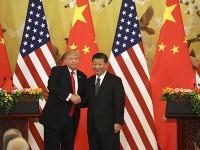 Donald Trump a čínsky prezident Si Ťin-pching.