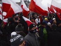 Varšavou pochodovali desiatky tisíc nacionalistov.