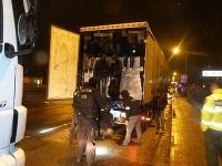 Zadržaní migranti