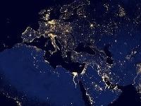 Svetelné znečistenie je enormné