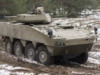 Obrnené vozidlo Patria BOV 8x8