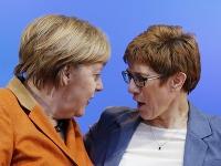 Angela Merkelová a Annegret Krampová-Karrenbauerová