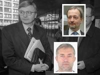 Exsiskár Ľuboš Kosík (vpravo dole) zverejnil vyhlásenie, v ktorom za hlavného vinníka v prípade únosu Michala Kováča ml. označil Ivana Lexu.