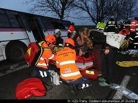 Vážna nehoda pri Prahe