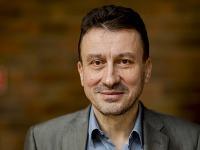Na snímke predseda Rady RTVS Igor Gallo počas rokovania Rady Rozhlasu a televízie