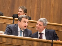 Béla Bugár a Andrej Danko