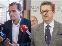 Ľubomír Galko a Martin Glváč
