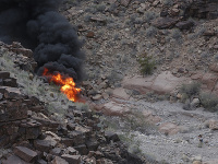 Pád vrtuľníka v Grand Canyone
