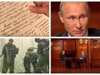 Putin objasnil šokujúce fakty vo svojom dokumente