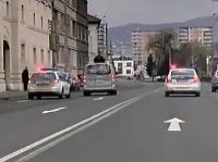 Policajná naháňačka v Košiciach