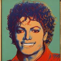 Warholov obraz Michaela Jacksona