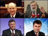 Anton Bobrík, Ľudovít Barát, Stanislav Chovanec a Peter Pagáč