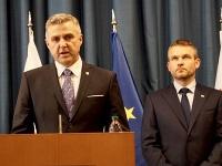 Tibor Gašpar a Peter Pellegrini