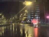 Polícia naháňala opitého motorkára v centre Bratislavy.