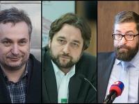 Ondrej Dostál, Ľuboš Blaha a Martin Poliačik