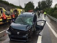 Vážna nehoda pri Žiline