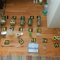 Zadržané drogy