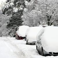 Návaly snehu vo Veľkej Británii