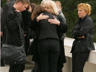 pohreb Kristina Židekova