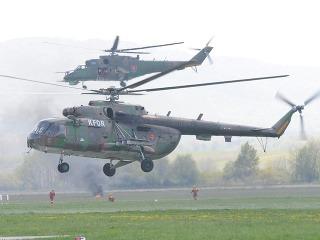 Vrtuľník Mi 17