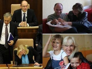 FOTO Radičová a Sulík,