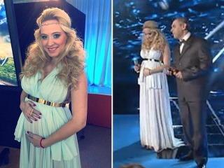Dominika Mirgová je tehotná. Šťastnú novinu prezradila počas galavečera Noc nádejí.