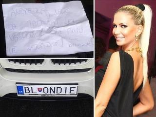 Andrea Járová vtipom o blondínkach nezostáva nič dlžná.