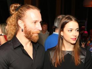 Gabriela Marcinková s priateľom Martinom.