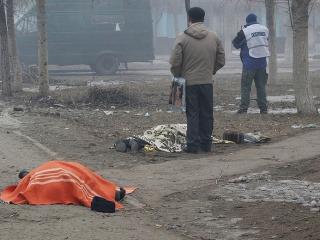 Mesto Mariupol pod paľbou