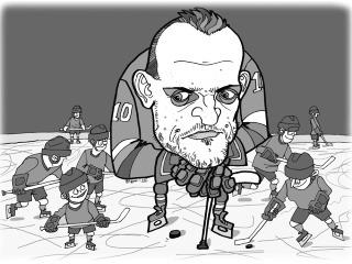 KARIKATÚRA Taktika slovenského mančaftu na MS v hokeji