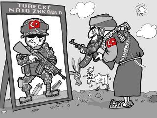 KARIKATÚRA Schizofrenické Turecko