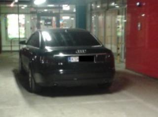 Parkovanie v košickom Auparku