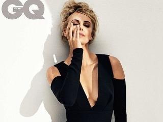 Charlize Theron ako sexica na stránkach magazínu GQ.