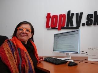 Herečka Zuzana Kronerová bola online.