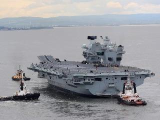 Briti dokončili najväčšiu lietadlovú