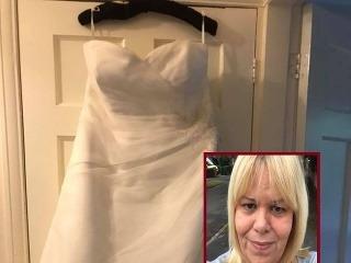 Nevesta predáva svoje svadobné