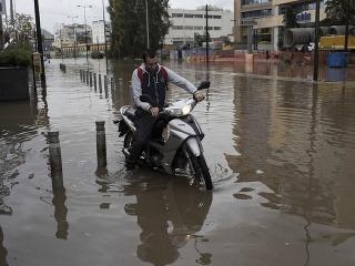 Povodne v Grécku