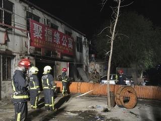 Požiar v Pekingu