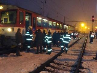 Vo Zvolene sa zrazili vlaky.