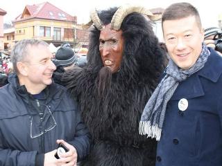 Jaroslav Staník a Tomio Okamura