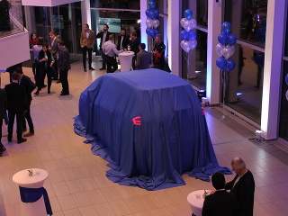 Ford Galaxy 2016 a uvedenie Galaxy v novom showroome v Košiciach