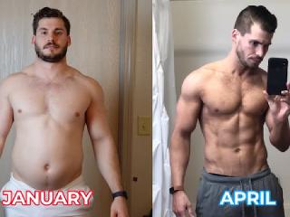 Muž sa za tri mesiace premenil svoje telo na nepoznanie.