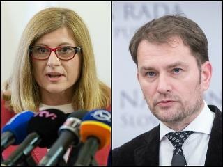 Gabriela Matečná a Igor Matovič